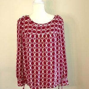 Loft woven blouse